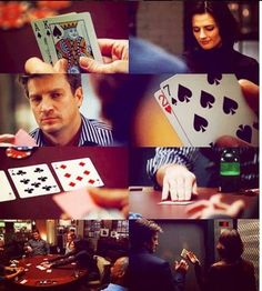 Poker and Castle, 2 of my favorite things (: Castle Tv Series, Castle Tv Shows, Operating Room Nurse, Teddy Bear Day, Castle Beckett, Best Mysteries, Nathan Fillion, Poker Games, Great Tv Shows