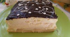 Sütemény tejfölös krémmel Cheesecake, Pudding, Food, Cheesecakes, Custard Pudding, Essen, Puddings, Meals, Yemek