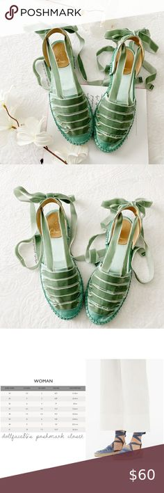 I just added this listing on Poshmark: Castañer Green Espadrilles With Velvet Laces. #shopmycloset #poshmark #fashion #shopping #style #forsale #castaner #Shoes Best Diamond, Shades Of Green, Professional Photographer, Closer, Velvet, This Or That Questions, Heels, Fit