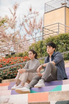 Movie Couples, Cute Couples, Airport Style, Airport Fashion, Mark Prin, Bright Pictures, Couple Photography Poses, Thai Drama, Drama Film
