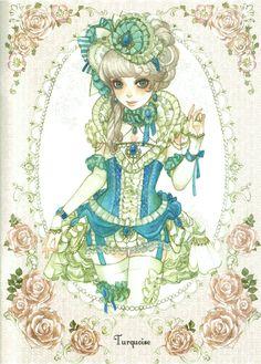 Turquoise Sakizou Artwork