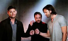 [gif] of Fist Bump Facebook video #Supernatural promo