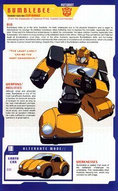 Transformer of the Day: Bumblebee Transformers Generation 1, Transformers Autobots, Transformers Characters, Transformers Bumblebee, Transformers Funny, Gi Joe, Comic Art, Comic Books, Optimus Prime