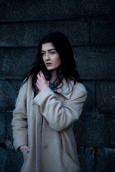 model photoshooting in Glasgow city - Scotland.