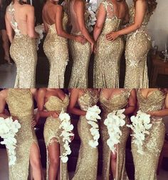 Some bridesmaids dresses that I really liked for my wedding colors (when I have one) but I figured I would share in case you liked them. There's a huge selection on this site as well, and they can be found at   http://m.dhgate.com/product/2015-new-fashion-trend-gold-sequined-beaded/244765736.html#s2-11-1