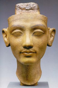 - Head of Nefertiti .Amarna ./tcc/