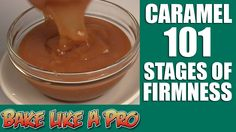 Caramel 101 The Stages of Caramel Homemade Caramel Sauce, Best Food Ever, My Recipes, Food Videos, Food To Make, Good Food, Sweets, Baking, Sauces