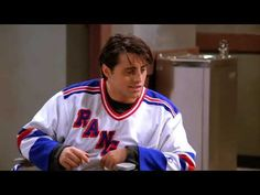 Friends TV series- the one with Ross, Joey & Chandler at emergency. Friends Season 1 Episodes, Ross Friends, George Stephanopoulos, Watches Online, Justice League, Positive Vibes, Hockey, Tv Series, Comedy