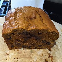 Week 1: Pumpkin Chocolate Chip Bread A really easy recipe to follow which resulted in a delicious and moist loaf. Recipe here: http://sallysbakingaddiction.com/2014/09/08/pumpkin-chocolate-chip-bread/
