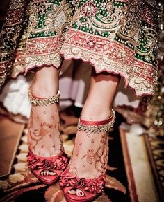 Mendi and gorgeous shoes