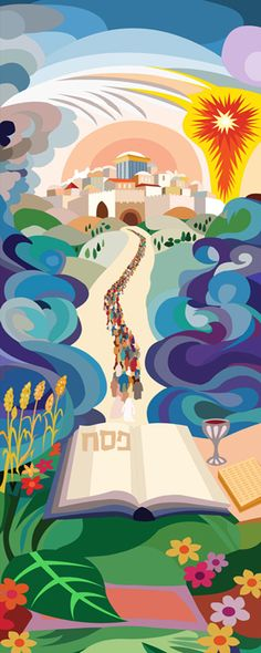 Happy Passover by Bracha Lavee