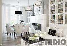 salon-bialy - zdjęcie od MIKOŁAJSKAstudio - Salon - Styl Glamour - MIKOŁAJSKAstudio