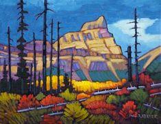 Mount Whymper by Nicholas Bott Canadian Painters, Canadian Artists, Acrylic Canvas, Canvas Art, Landscape Art, Landscape Paintings, Van Gogh Art, Environmental Art, Cool Paintings
