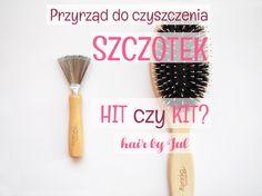 Jak czyścicie swoje szczotki? Ja ostatnio zaopatrzyłam się w taki oto przyrząd do czyszczenie szczotek.. Zobaczcie jak działa! #hair #blog #hairtips #tutorial