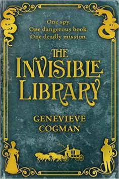 Irene is a spy for the mysterious Library, which harvests fiction from different realities. And along with her enigmatic assistant Kai, she's posted to an alternate London Their mission - to retrieve a dangerous book. But when they arrive, it's already been stolen. London's underground factions seem prepared to fight to the very death to find her book. Adding to the jeopardy, this world is chaos-infested with supernatural creatures and magic. Reminds me of Jasper Fforde's Thursday Next…