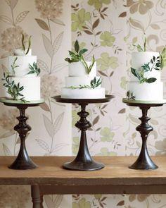 Botanical wedding. #cake #devinecolor