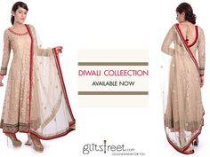Diwali collection available at Glitstreet now  #indian #diwali #festive #indianfashion #designer #shopnow   Shop at -www.glitstreet.com