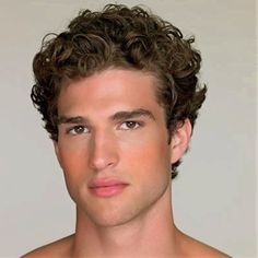 mens thick and curly hairstyles