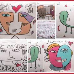 Un sueñito Find Art, Comics, Happy, Painting, Portrait, Places, Painted Porcelain, Wall Papers, Murals