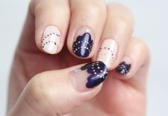 Nail Art: Fairy Lights Nails