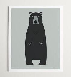 Modern Bear by ModernPOP on Etsy