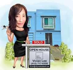 Just sold my off-market listing at 1857 28th Avenue, San Francisco! Had a fun real estate cartoon created to celebrate. What do you think of it?! If you are thinking of making a move, I can help you sell your property or find your dream home too. Contact me today and let me prove to you why I am the right Realtor for you! VIVIAN LEE | Realtor, City Real Estate | DRE #01342994 | (415) 717-6308 | vivian@cityrealestatesf.com | vivianleesf.com Dreaming Of You, Thinking Of You, Finding Yourself, Real Estate, Let It Be, Marketing, Thinking About You, Real Estates