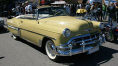 1953 chevy conv | Chevrolet Bel Air convertible