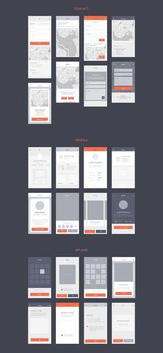 Blocks iOS Wireframe Kit