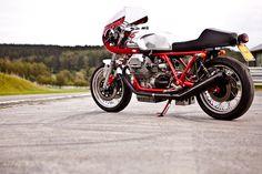 Moto Guzzi Cafe Racer.