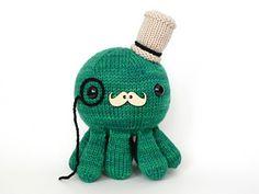 Ravelry: Dandy Sir Cephalopod, Knitting Pattern, $5