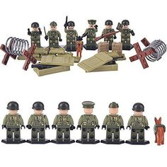 LIGHTALING SWAT Military Minifigures Soldier Model World War II US Team Building #LIGHTALING