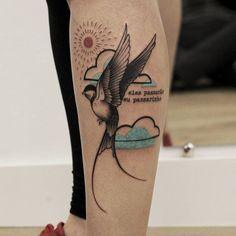 Encontre o tatuador e a inspiração perfeita para fazer sua tattoo. Tribal Tattoos, Tattoos Skull, Body Tattoos, New Tattoos, Tatoos, Woman Body Tattoo, Tattoos For Women, Tattoos For Guys, Colorful Bird Tattoos