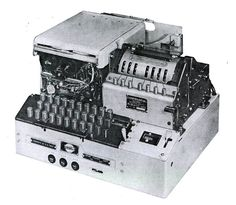 KL-47 Offline Crypto Machine.  Patterned after German Enigma machine