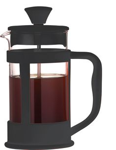 Cafe Ole Colour Cafetieres has heat resistant glass beakers and a soft touch handle - ideal for a modern kitchen!