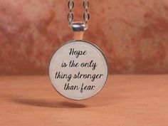 The Hunger Games Hope is the only thing by NorthStarPendants, $12.95