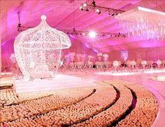Arabic wedding decoration, bride, bridal, groom