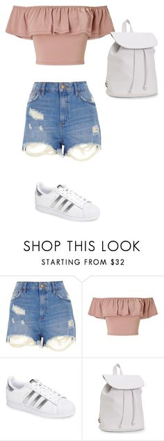 """How to wear Summer"" by leah-1x on Polyvore featuring River Island, Miss Selfridge, adidas and Aéropostale"