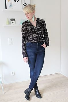 Jeans with blouse // Kotisaari