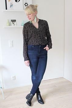 Jeans with blouse // Kotisaari