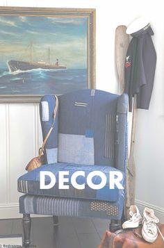 Denim Decor, Denim Jeans, Toddler Bed, Bedroom Decor, Projects, Inspiration, Home Decor, Child Bed, Log Projects