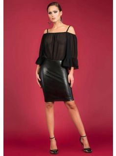 Rochie Party is coming Attitude, Leather Skirt, Feminine, Elegant, Skirts, Party, Shopping, Collection, Fashion