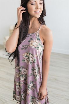 We are loving all the floral this season! Our Floral Tank Dress will make a great addition to your closet!