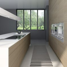 Sigdal kjøkken - Amfi Eik 2.0 lin River House, Kitchens, New Homes, Bathtub, Cabin, Bathroom, Inspiration, Design, Home Decor