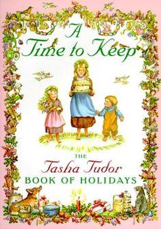 Tasha Tudor - Dieses Buch hatte eine tiefgreifende Wirkung auf unsere Entwicklung von Familienkultur. Wir zentriert viele Traditionen rund um die Szenen in dieser schönen bo ...