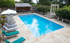 The Old Rectory Pool area.