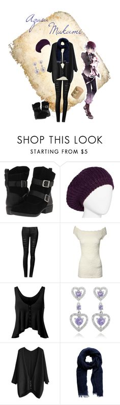 """""""Mukami Azusa Casual Cosplay (School), Diabolik Lovers (MORE, BLOOD)"""" by psychometorzi ❤ liked on Polyvore featuring MIA, Jane Norman, Dolce Giavonna and Forever New"""