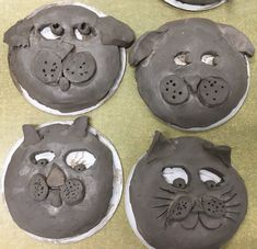 Third grade clay masks