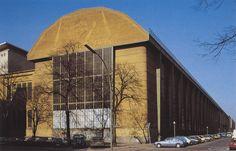 Peter Behrens, AEG Turbine Factory (Berlin, Germany), 1908-1909