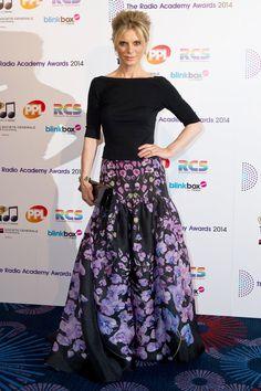 Emilia Fox in Temperly London | 2014 Radio Academy Awards, London