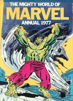 Mighty World of Marvel Annual 1977. #MWOM